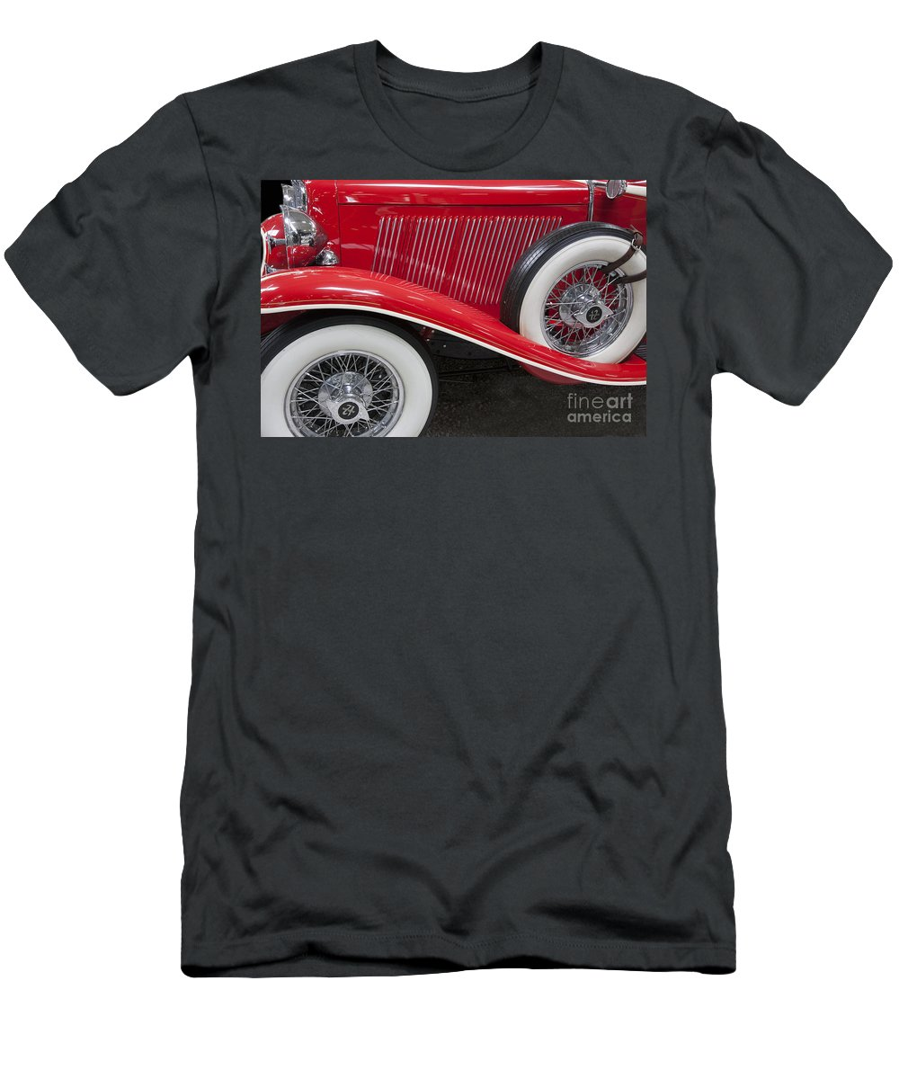 Heiko Men's T-Shirt (Athletic Fit) featuring the photograph Auburn 12-161 Coupe by Heiko Koehrer-Wagner