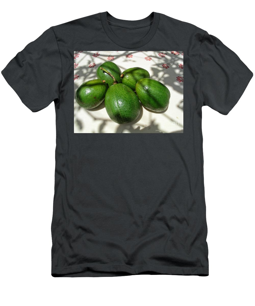 Abadiania Men's T-Shirt (Athletic Fit) featuring the digital art Avacados by Carol Ailles