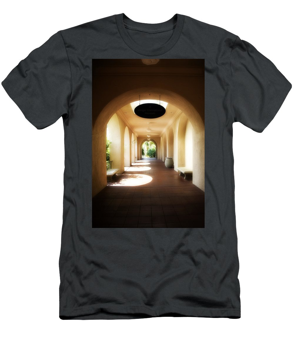 Balboa Men's T-Shirt (Athletic Fit) featuring the photograph Balboa Park by Hugh Smith