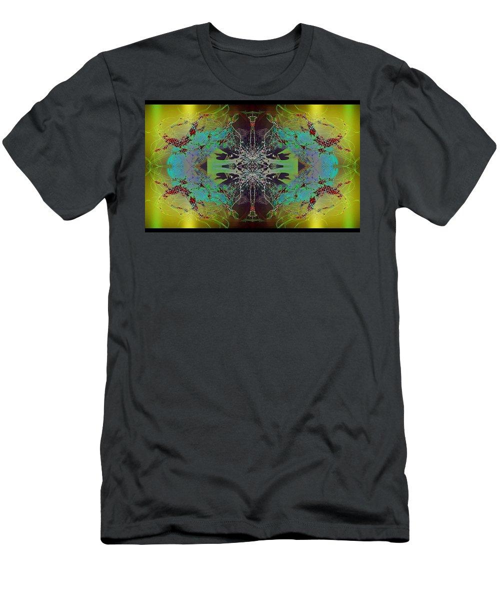 Angel Men's T-Shirt (Athletic Fit) featuring the digital art Bartlett by Raymel Garcia