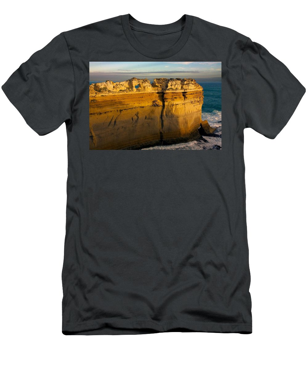 Australia Men's T-Shirt (Athletic Fit) featuring the photograph Bay Of Islands #9 by Stuart Litoff