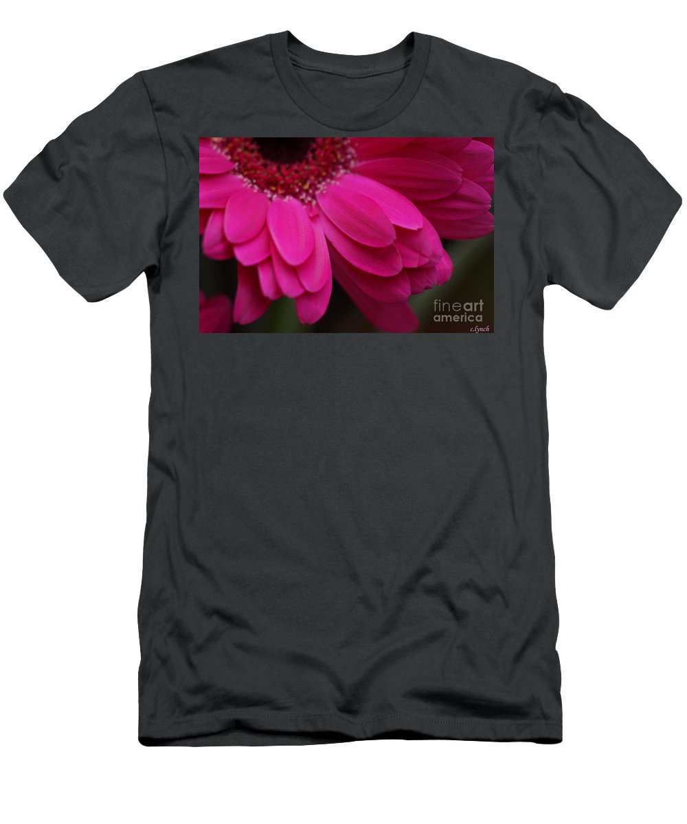 Pink Men's T-Shirt (Athletic Fit) featuring the photograph Beautiful Petals by Carol Lynch