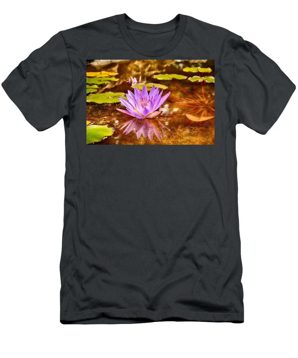 Reflection Photograph Men's T-Shirt (Athletic Fit) featuring the photograph Beautiful Reflections by Kristina Deane