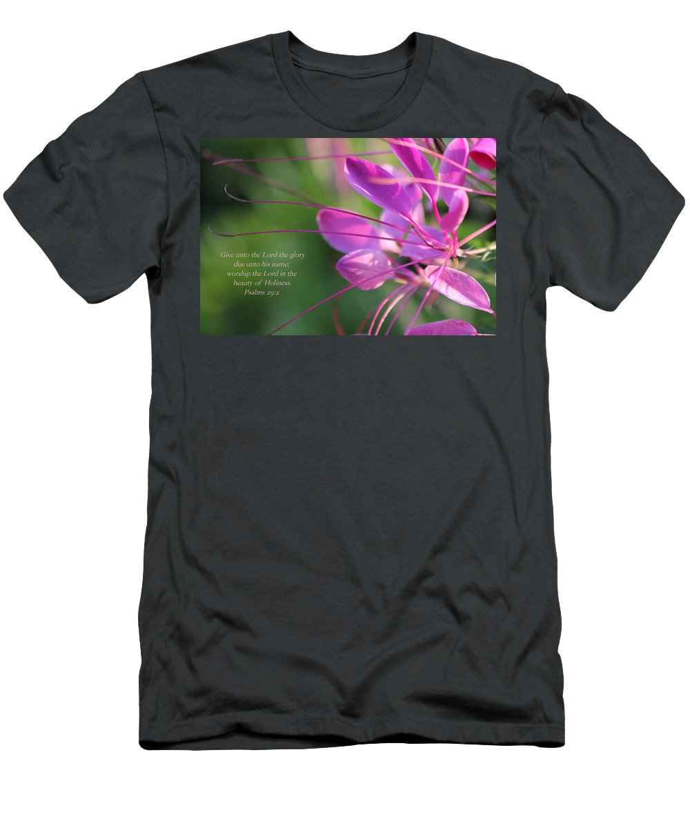 Flower Men's T-Shirt (Athletic Fit) featuring the photograph Beauty by Debbie Nobile