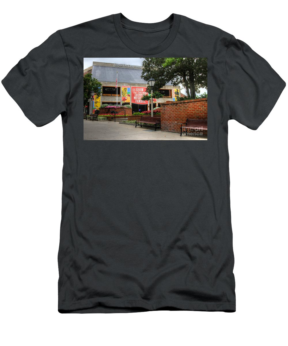 Grand Ole Opery Men's T-Shirt (Athletic Fit) featuring the photograph Big Dreams by Robert Pearson