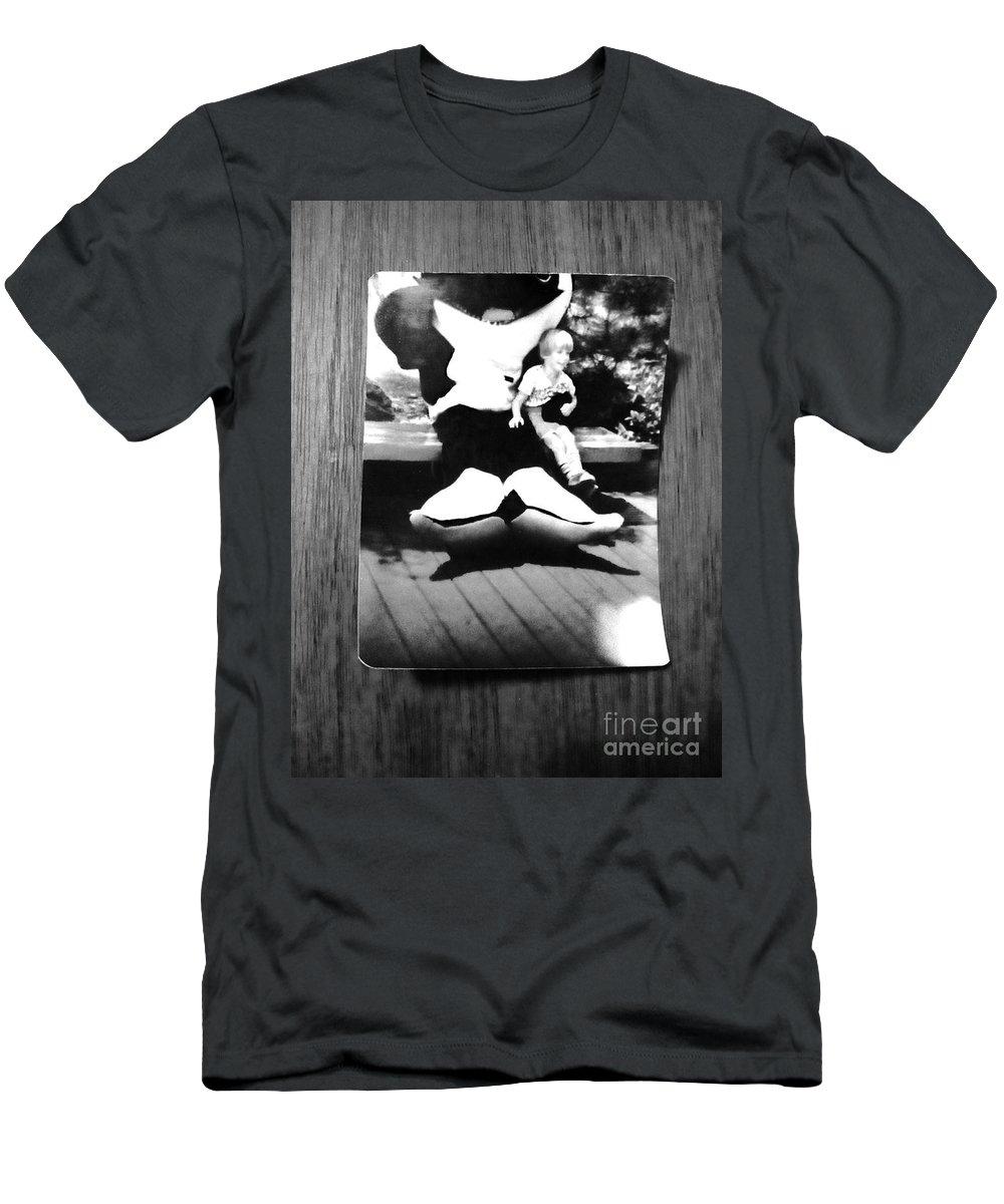 Blackfish Men's T-Shirt (Athletic Fit) featuring the photograph Blackfish by Michael Krek
