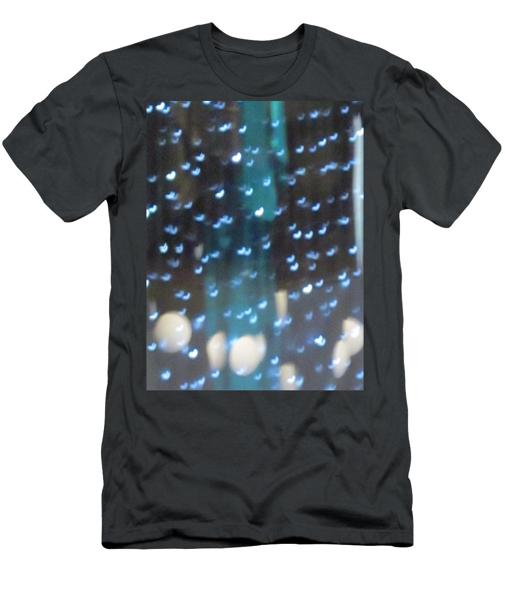 Blue Men's T-Shirt (Athletic Fit) featuring the photograph Blue Fantasy by Rosita Larsson