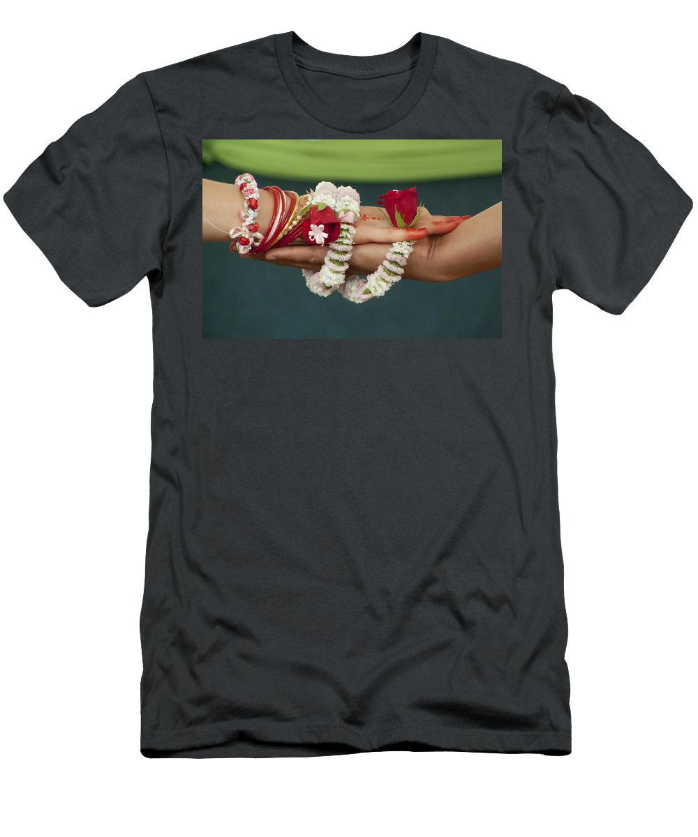 Bound Men's T-Shirt (Athletic Fit) featuring the photograph Bound For Eternity by Daniel Csoka
