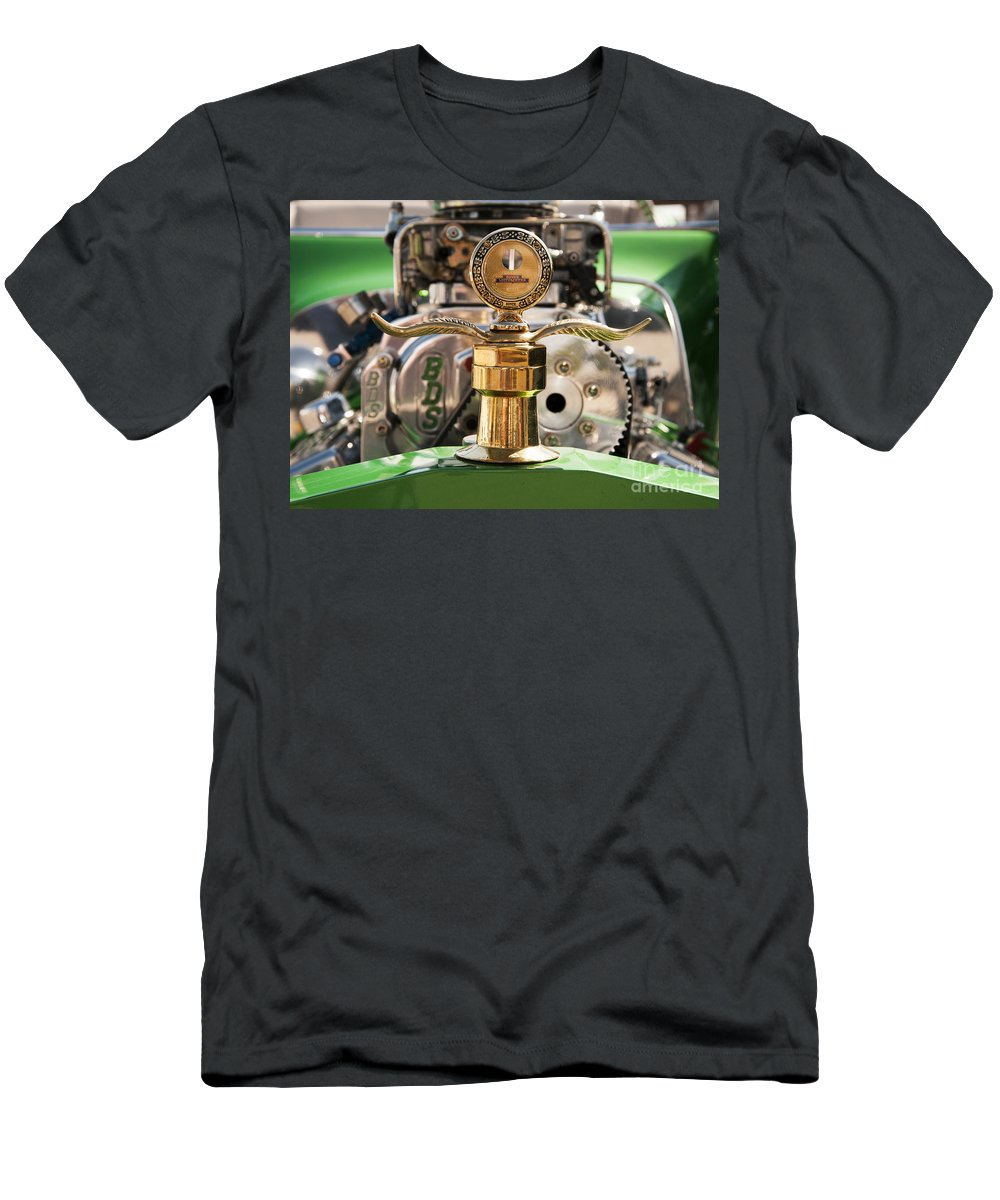 Boyce Motometer Men's T-Shirt (Athletic Fit) featuring the photograph Boyce Motometer by Vivian Christopher
