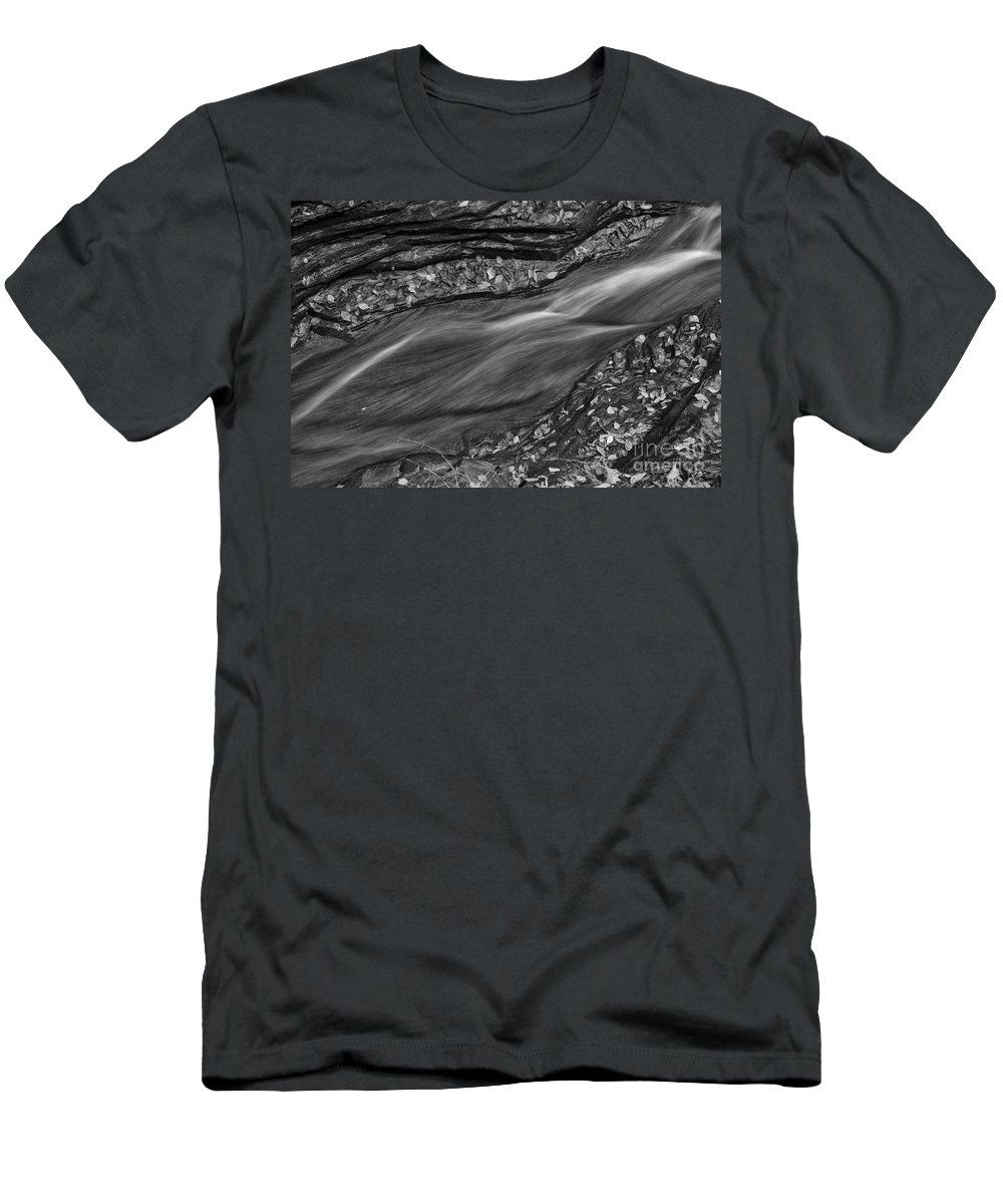 Michele Men's T-Shirt (Athletic Fit) featuring the photograph Braided Water by Michele Steffey