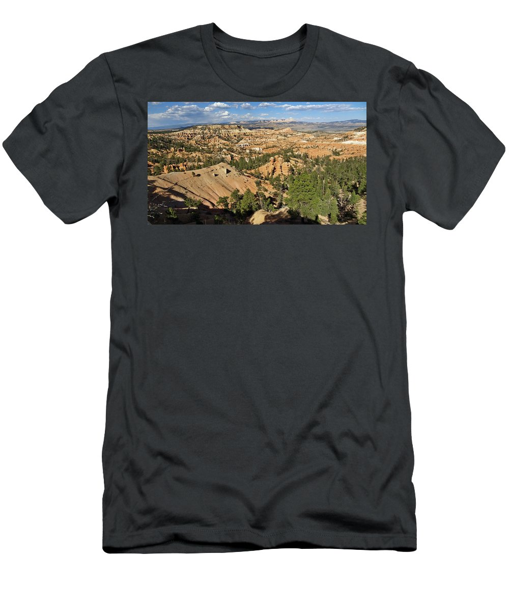 Bryce Canyon Men's T-Shirt (Athletic Fit) featuring the photograph Bryce Canyon by Mountain Dreams