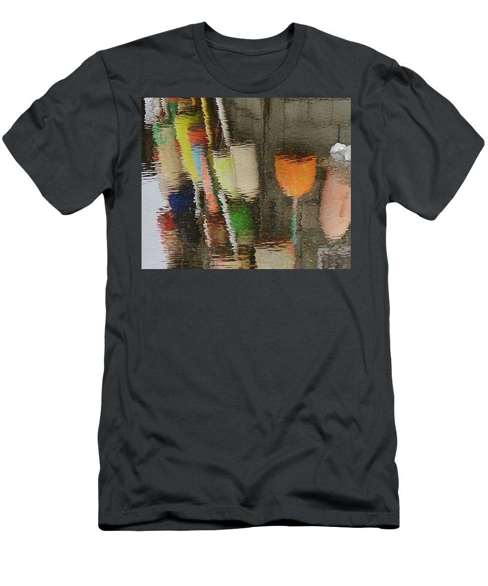 Buoys T-Shirt featuring the photograph Buoys by Lisa Kane