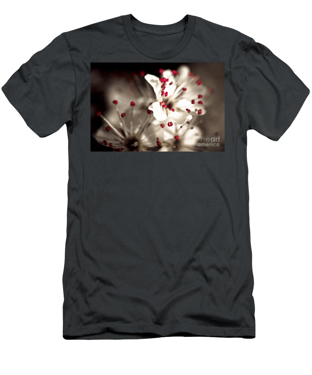 Flower Men's T-Shirt (Athletic Fit) featuring the photograph Business Is Blooming by Brothers Beerens
