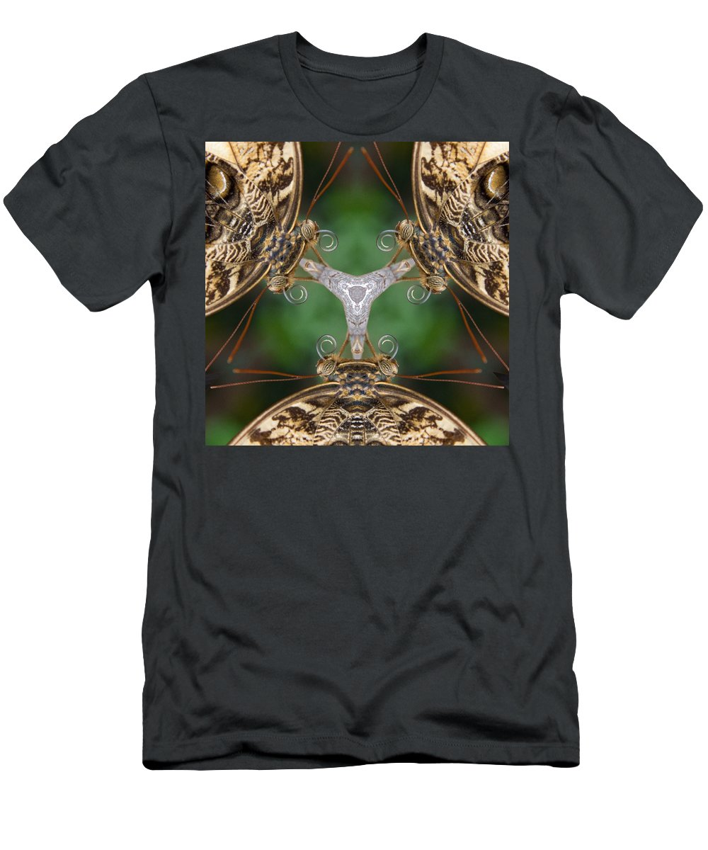 Butterfly Men's T-Shirt (Athletic Fit) featuring the photograph Butterfly 24 by Natalie Rotman Cote