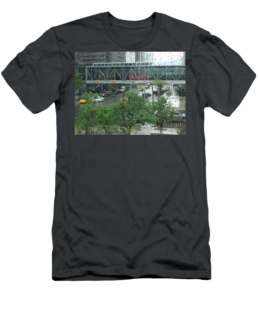 Canada Men's T-Shirt (Athletic Fit) featuring the photograph Canada Calgary Plus15 by Coventry Wildeheart