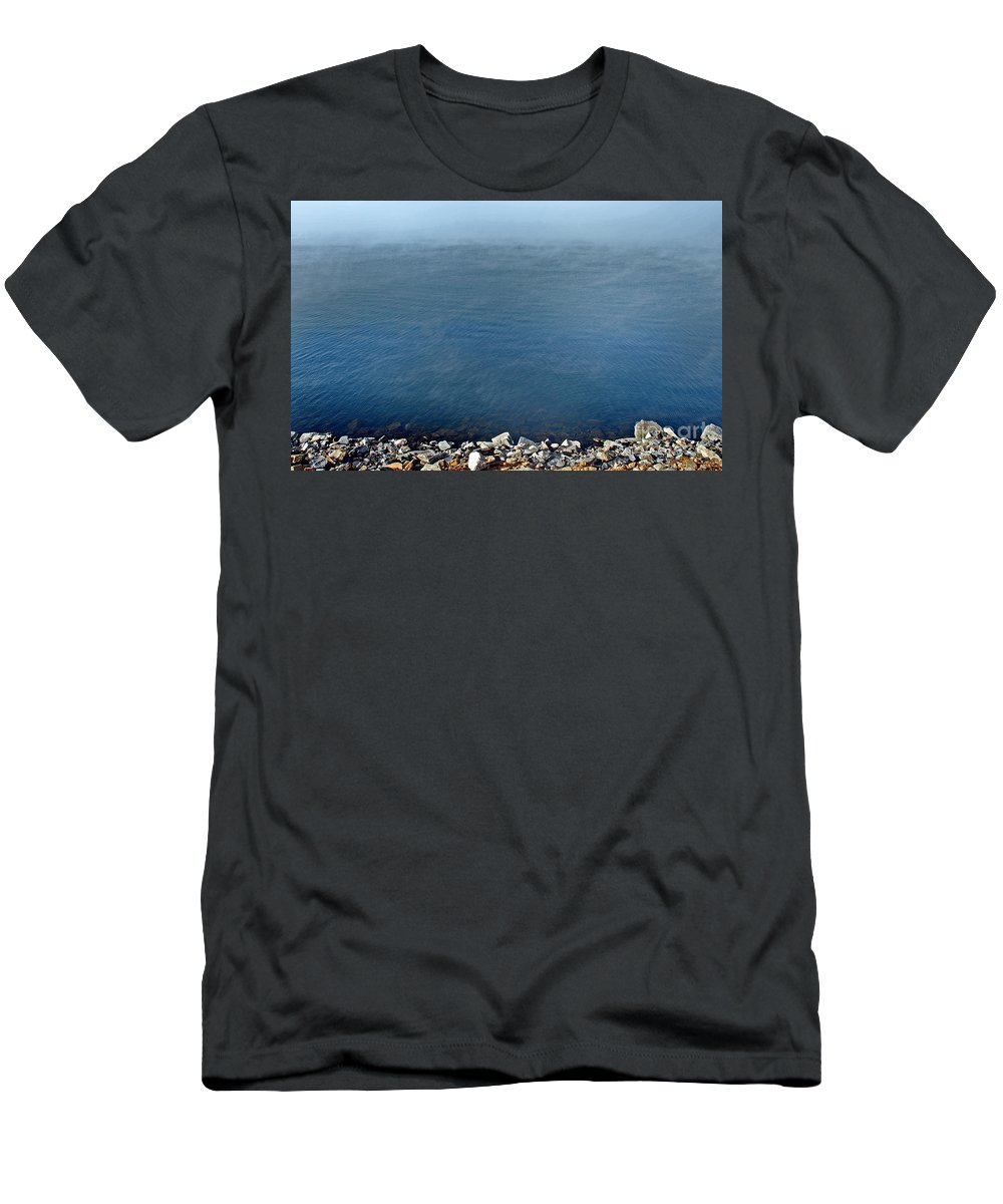 Scenic Tours Men's T-Shirt (Athletic Fit) featuring the photograph Cauldron by Skip Willits