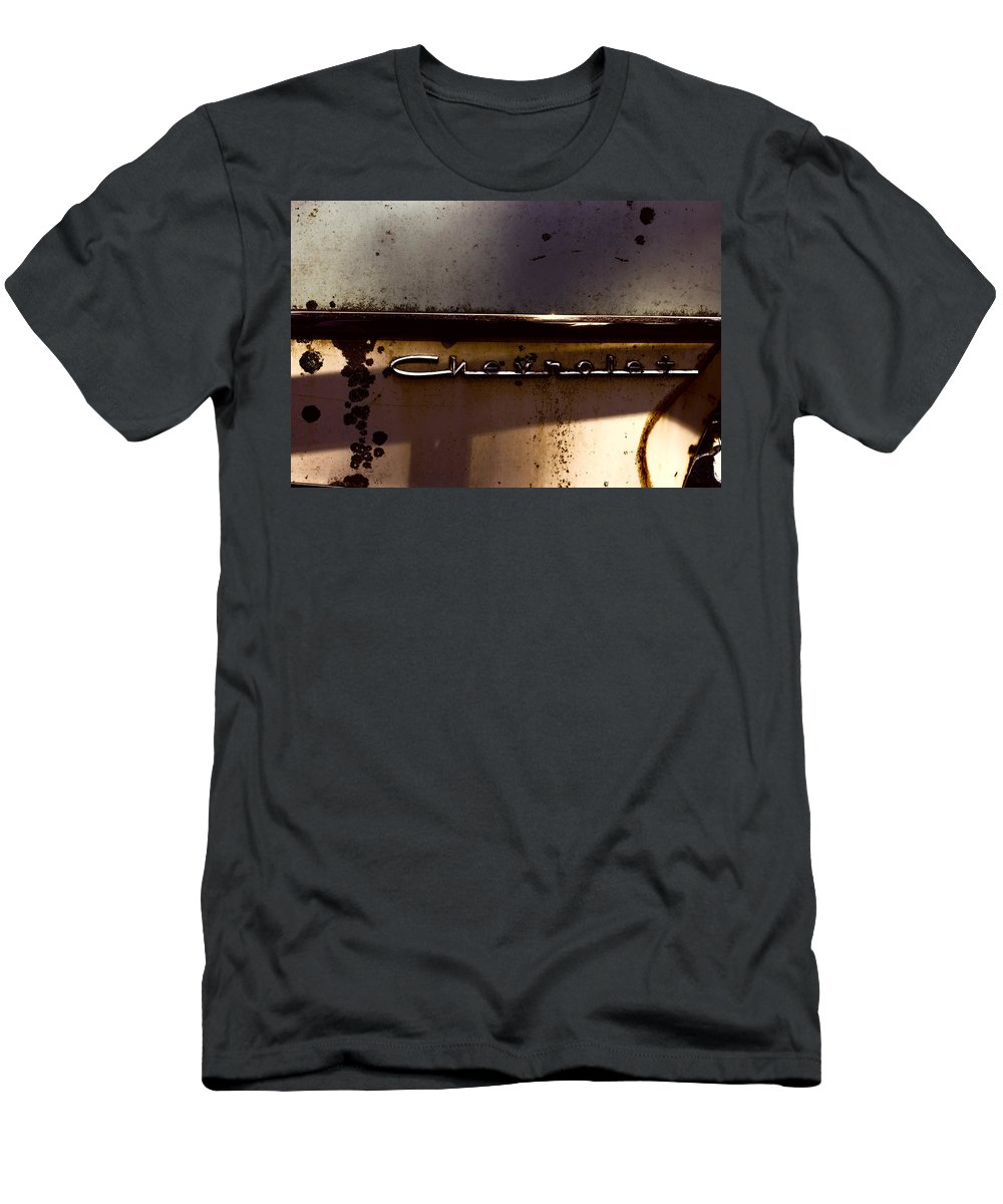 Men's T-Shirt (Athletic Fit) featuring the photograph Chevrolet 3 by Cathy Anderson