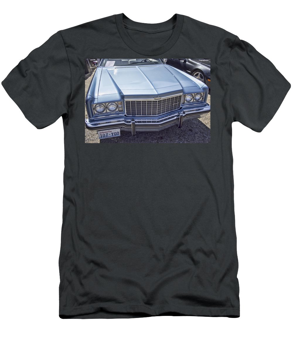 Men's T-Shirt (Athletic Fit) featuring the photograph Chevy Caprice by Cathy Anderson