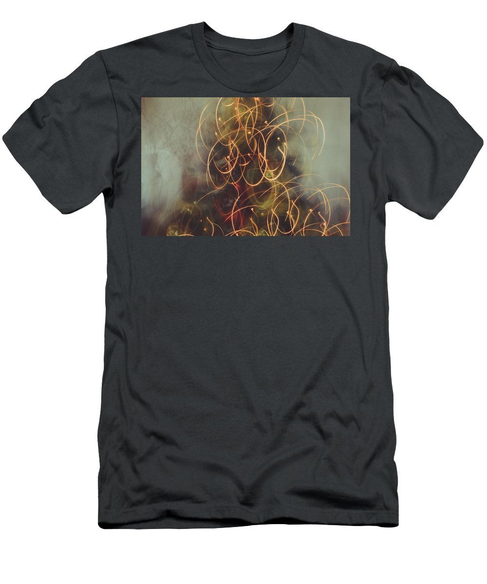 Christmas Men's T-Shirt (Athletic Fit) featuring the photograph Christmas Abstract Vi by Marco Oliveira