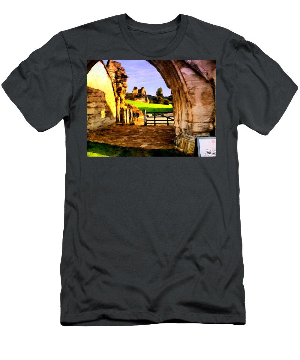 Classic Painting Men's T-Shirt (Athletic Fit) featuring the painting Classic Painting by Bruce Nutting