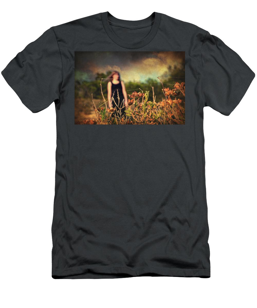 Nature Men's T-Shirt (Athletic Fit) featuring the photograph Closer by Zapista