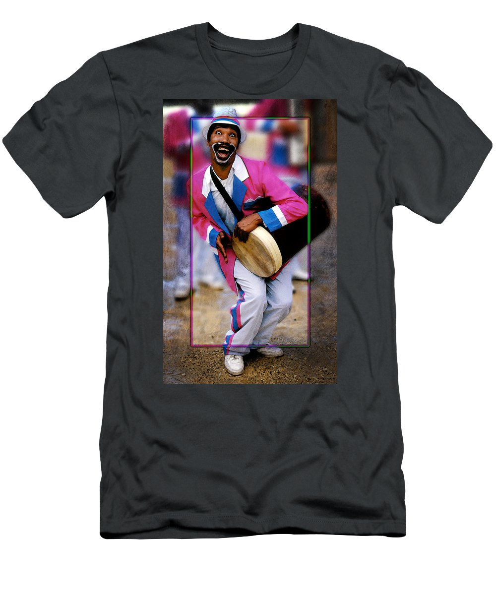 Clown Men's T-Shirt (Athletic Fit) featuring the photograph Clown 2 by Mauro Celotti