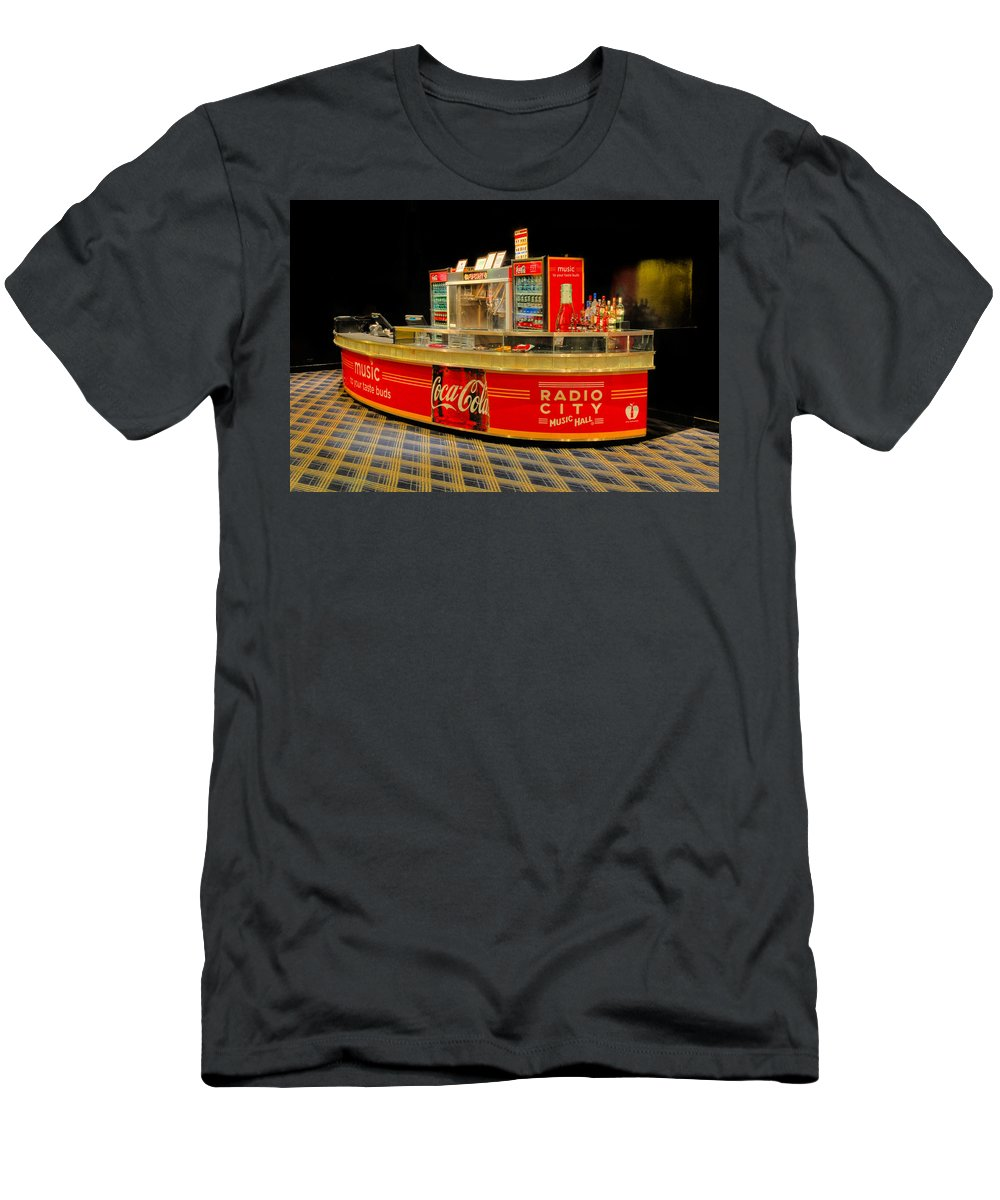 Coca Cola Men's T-Shirt (Athletic Fit) featuring the photograph Coca Cola by Dave Mills