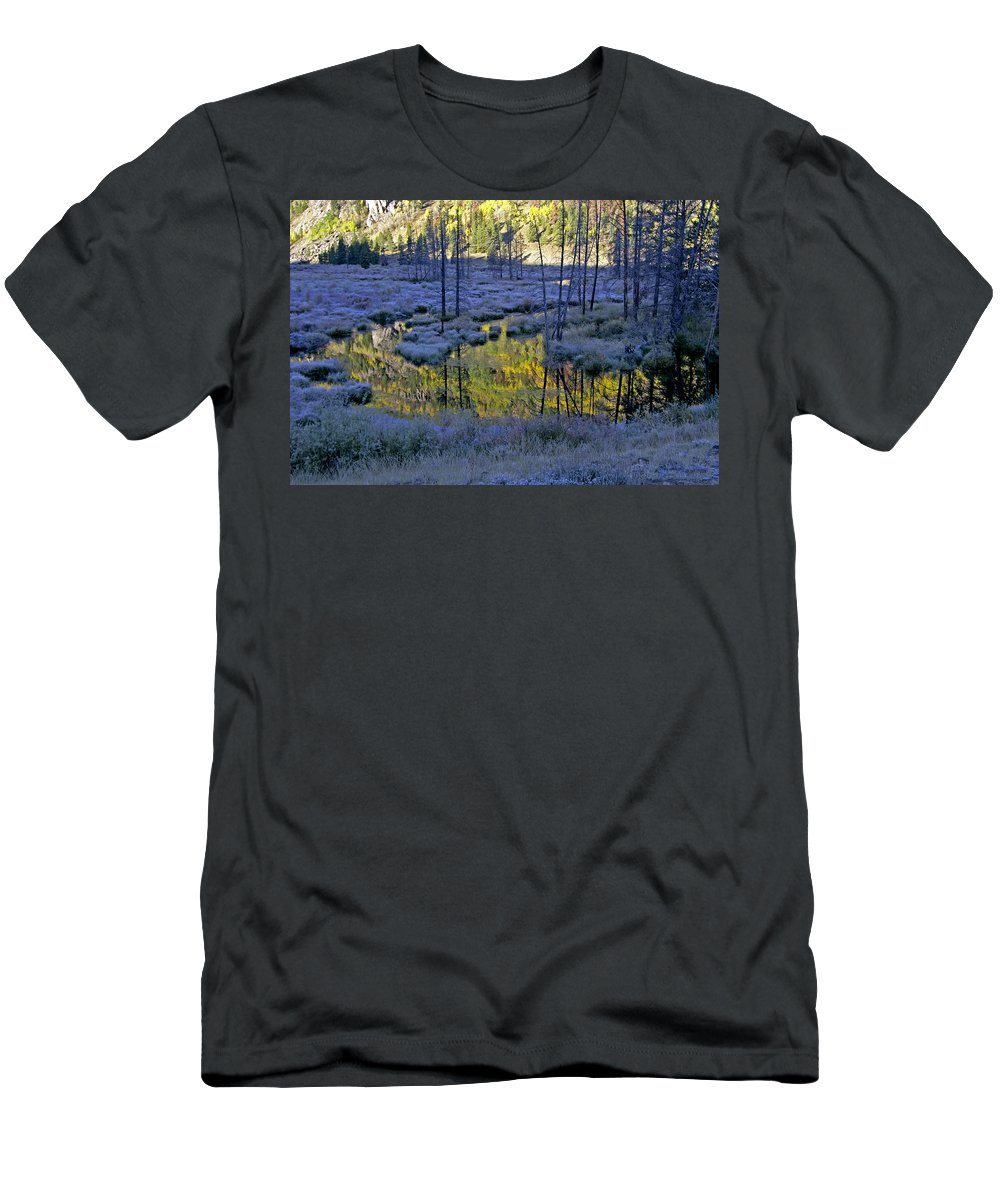 Colorado Men's T-Shirt (Athletic Fit) featuring the photograph Colour Palette by Jeremy Rhoades