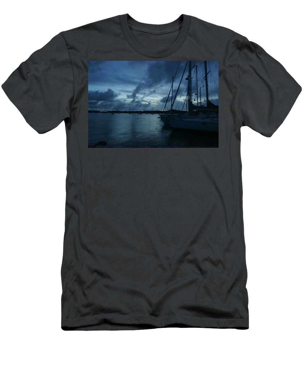 Sail T-Shirt featuring the photograph Composed Silence by Jean Macaluso