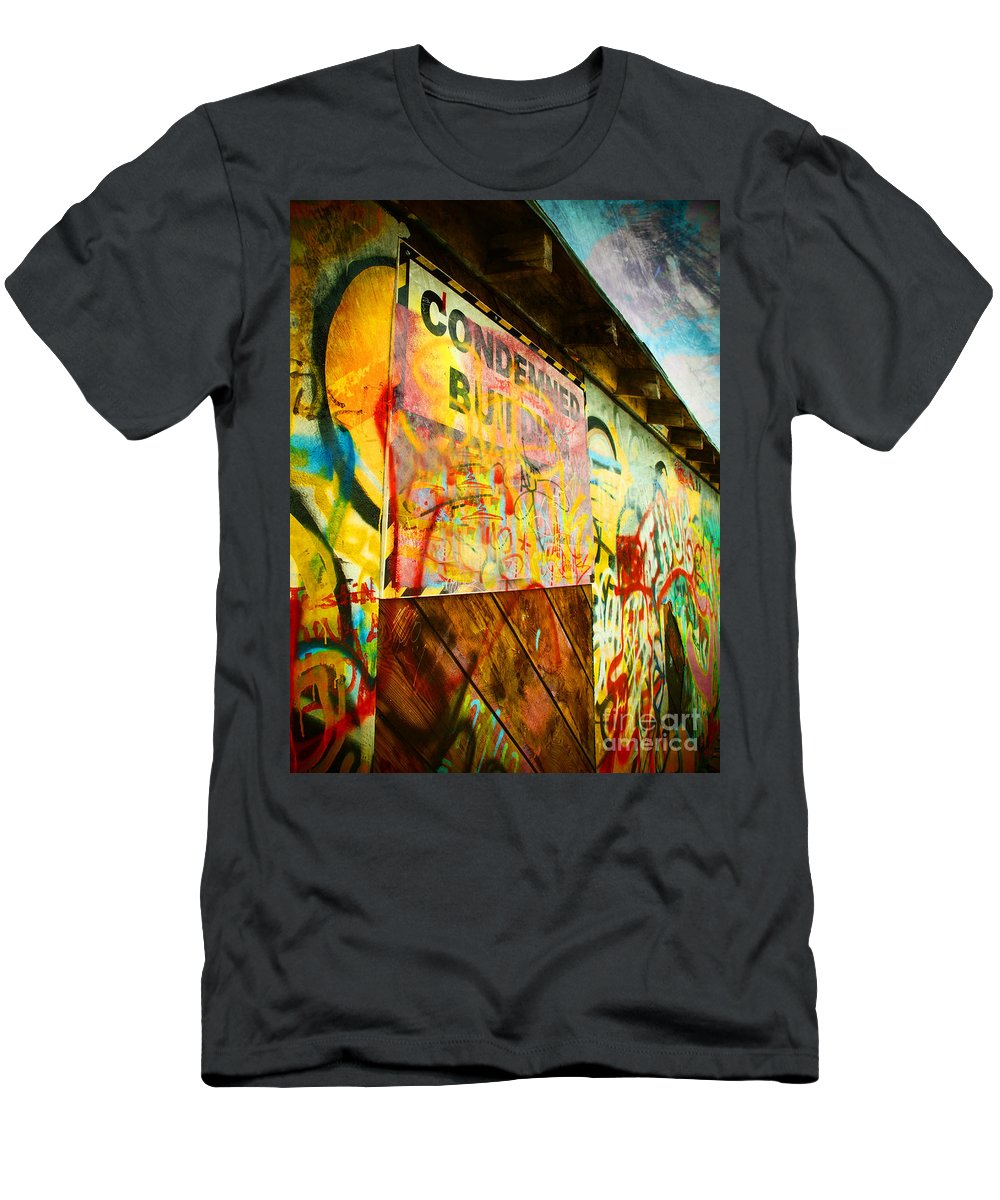 Condemned Men's T-Shirt (Athletic Fit) featuring the photograph Condemned by Tara Turner