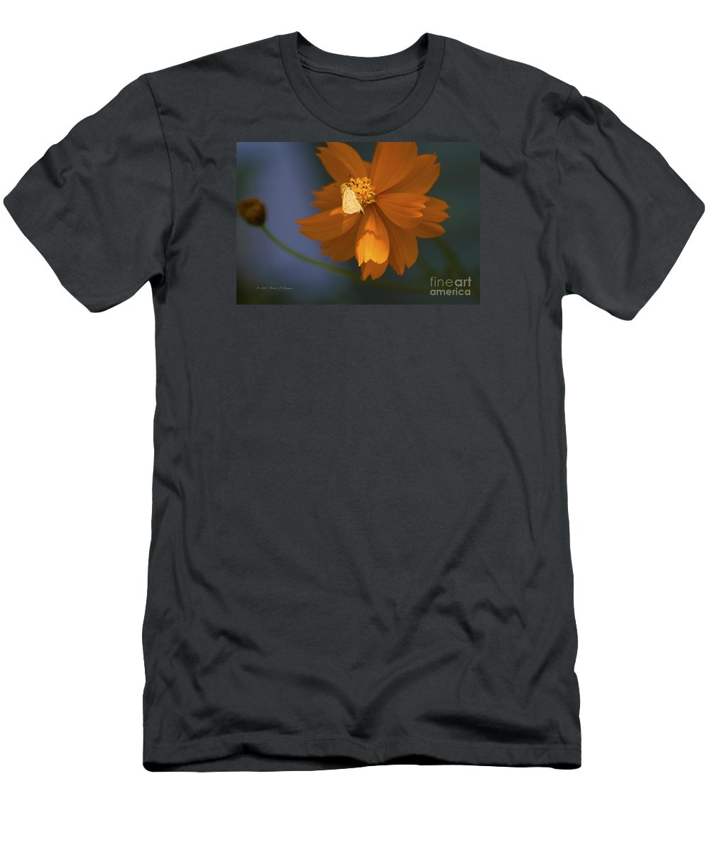 Coreopsis Men's T-Shirt (Athletic Fit) featuring the photograph Coreopsis by Richard J Thompson
