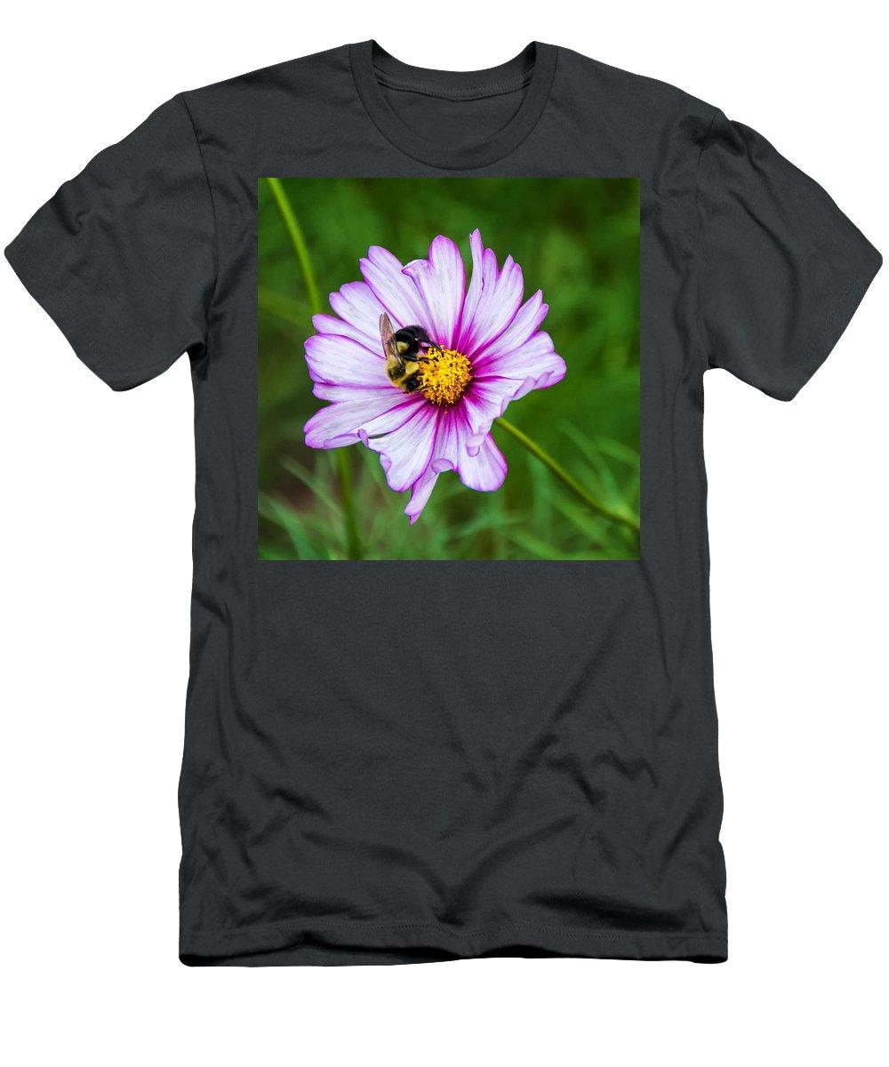 Steve Harrington Men's T-Shirt (Athletic Fit) featuring the photograph Cosmos 3 by Steve Harrington