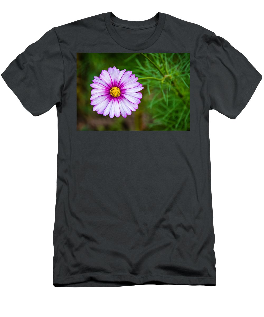 Steve Harrington Men's T-Shirt (Athletic Fit) featuring the photograph Cosmos by Steve Harrington