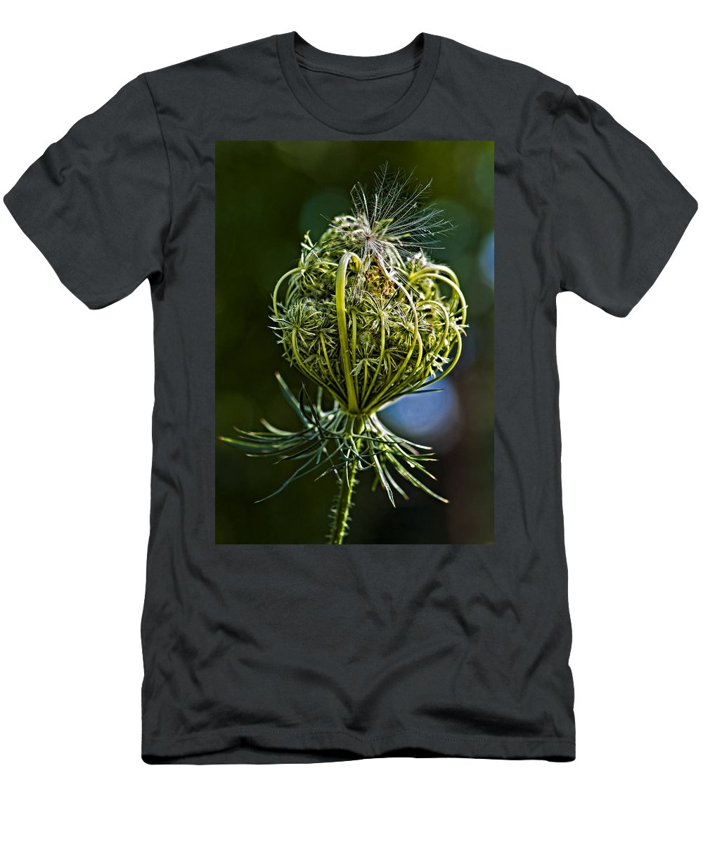 Weed Men's T-Shirt (Athletic Fit) featuring the photograph Countdown by Steve Harrington