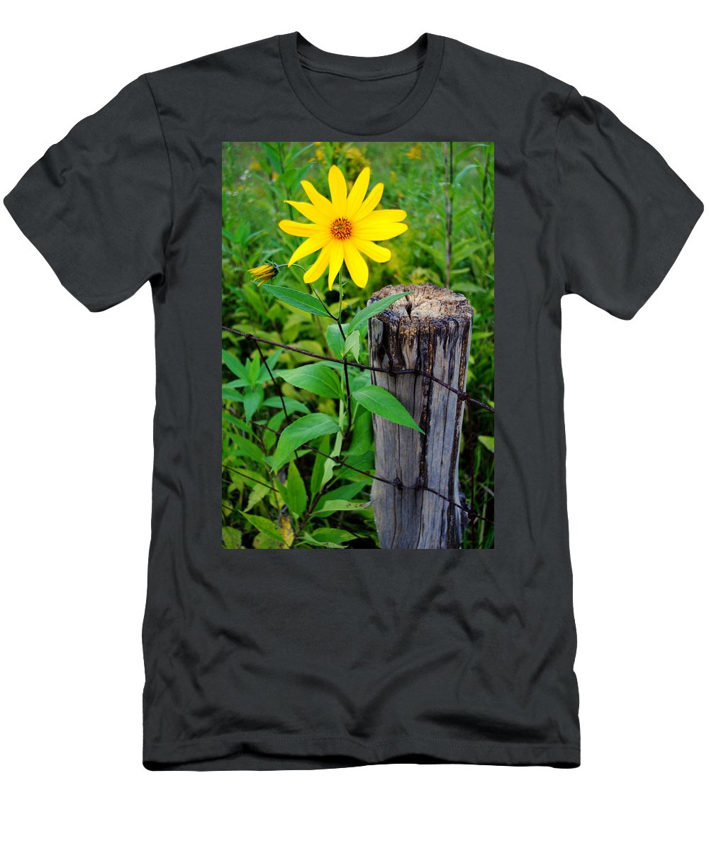 Country Men's T-Shirt (Athletic Fit) featuring the photograph Country Living by Frozen in Time Fine Art Photography