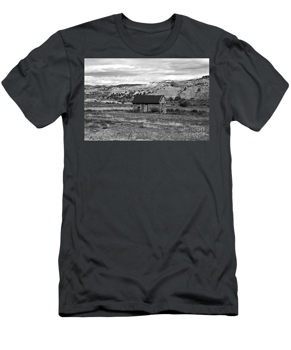 Utah Men's T-Shirt (Athletic Fit) featuring the photograph Courage by Kathy McClure