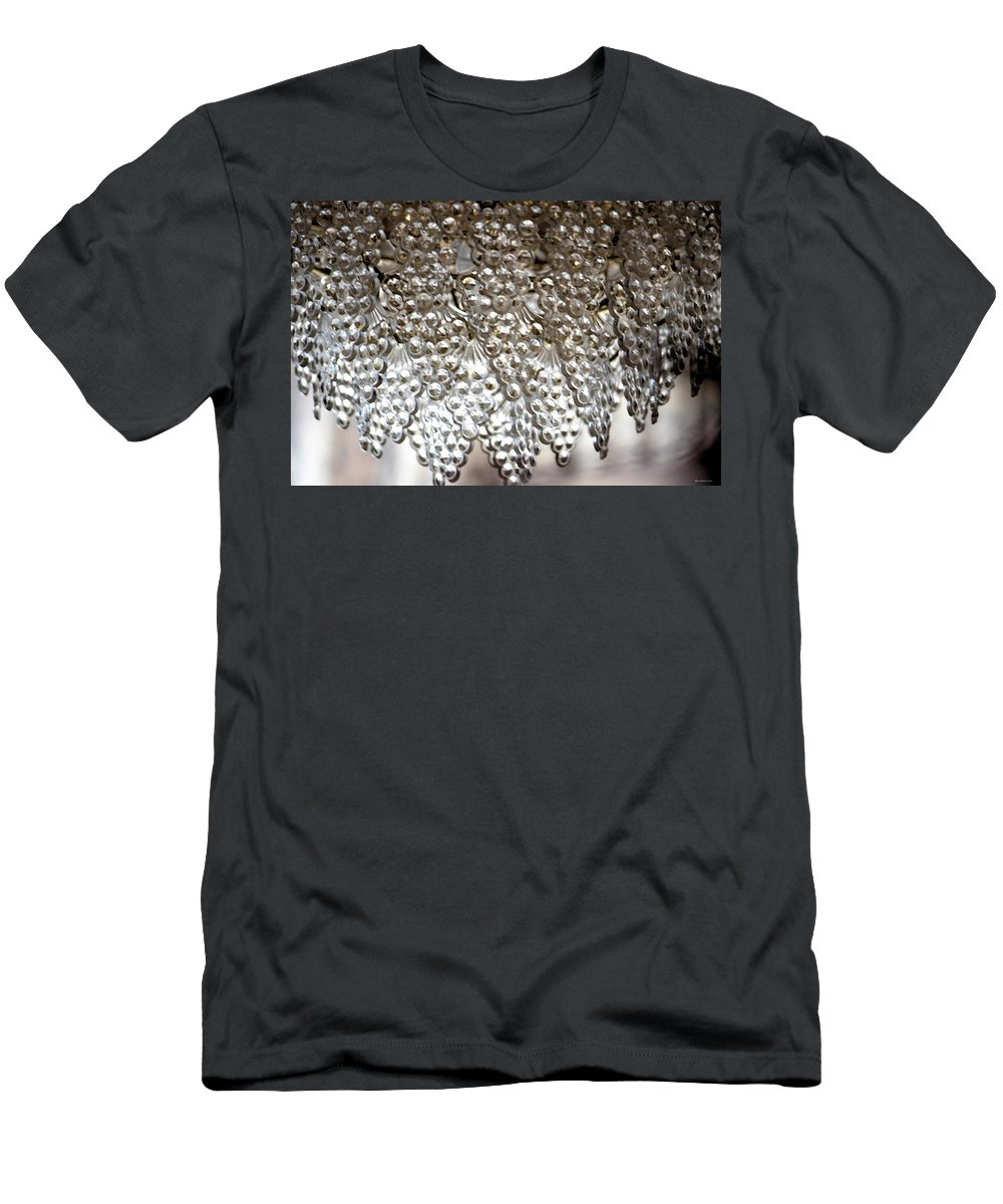 Crystals Men's T-Shirt (Athletic Fit) featuring the photograph Crystals by Maria Urso