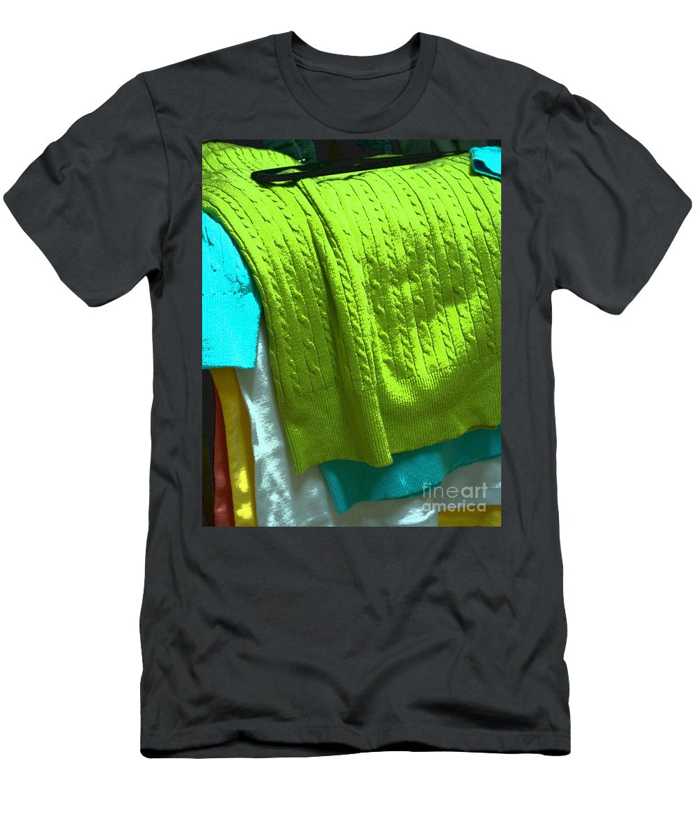Day Men's T-Shirt (Athletic Fit) featuring the photograph Daily Decisions by Paulette B Wright