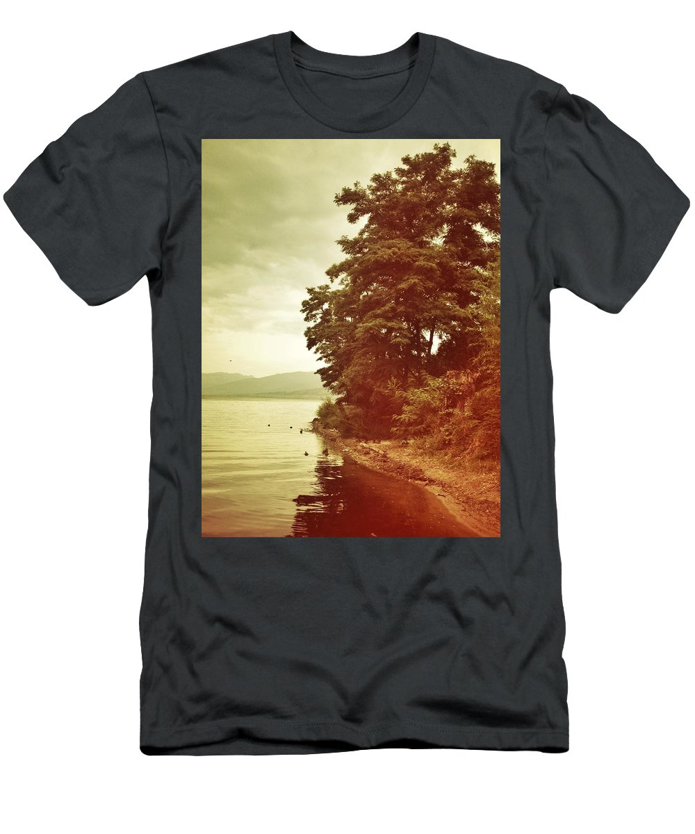 Men's T-Shirt (Athletic Fit) featuring the photograph Dancing Tree by The Artist Project
