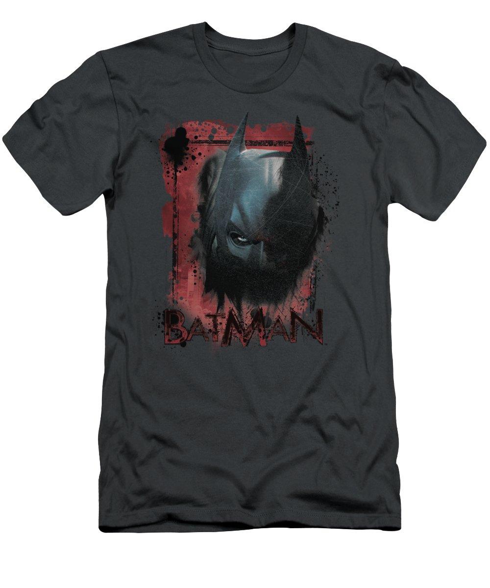 Dark Knight Rises T-Shirt featuring the digital art Dark Knight Rises - Fear Me by Brand A