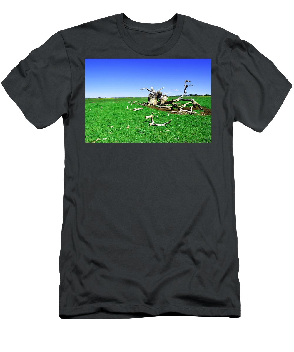 Dead Men's T-Shirt (Athletic Fit) featuring the photograph Dead Wood by Holly Blunkall