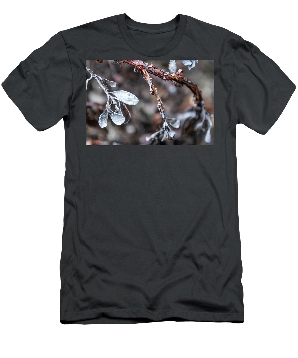 Death Men's T-Shirt (Athletic Fit) featuring the photograph Death by Anna Burdette