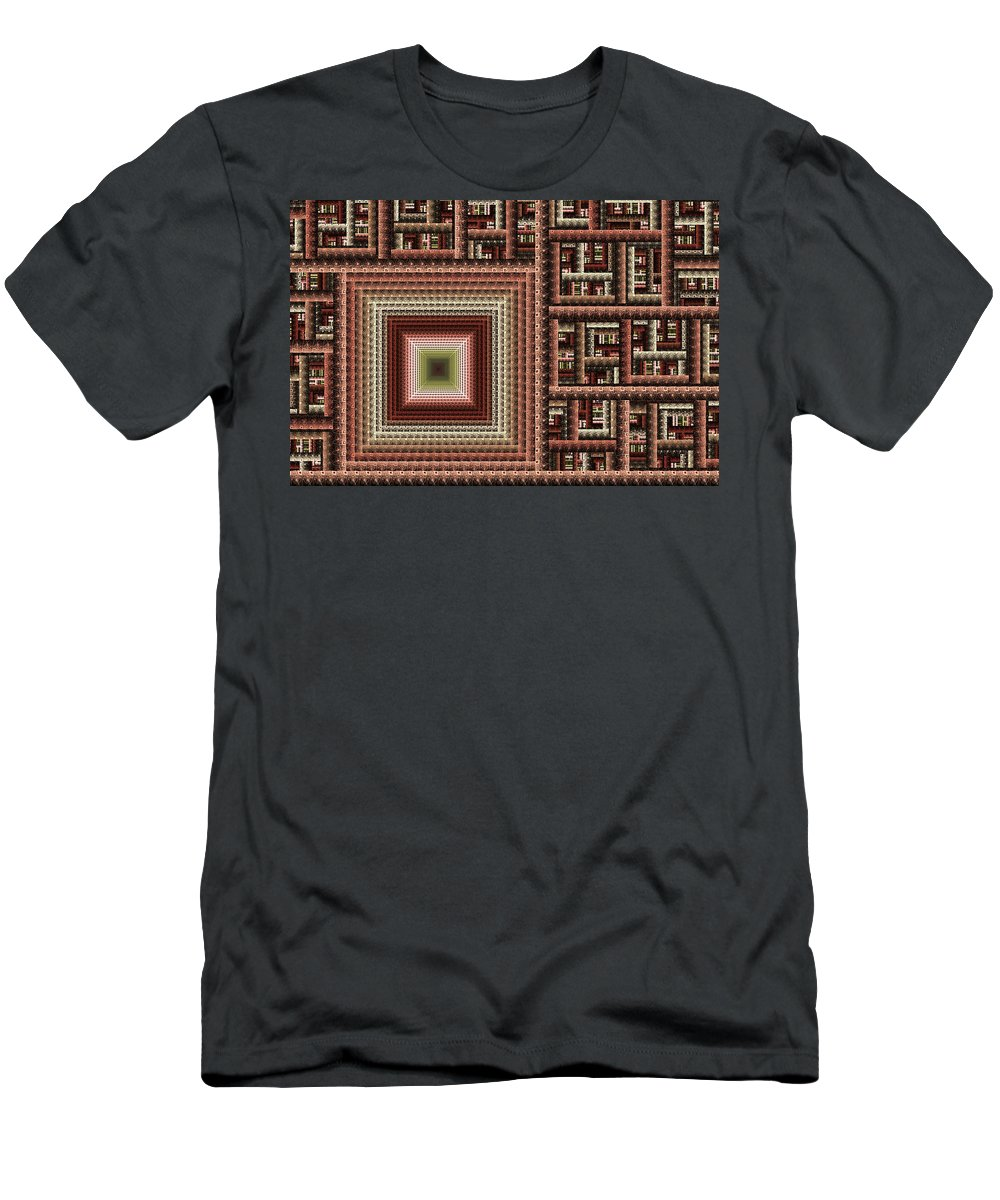 Digital Art Men's T-Shirt (Athletic Fit) featuring the digital art Details by Gabiw Art