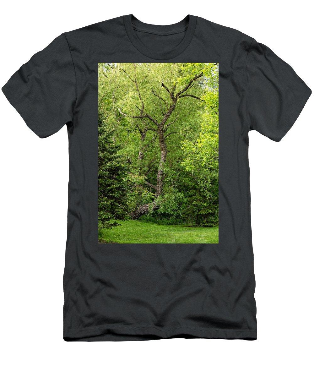 Bolton Men's T-Shirt (Athletic Fit) featuring the photograph Determination 2 by Steve Harrington