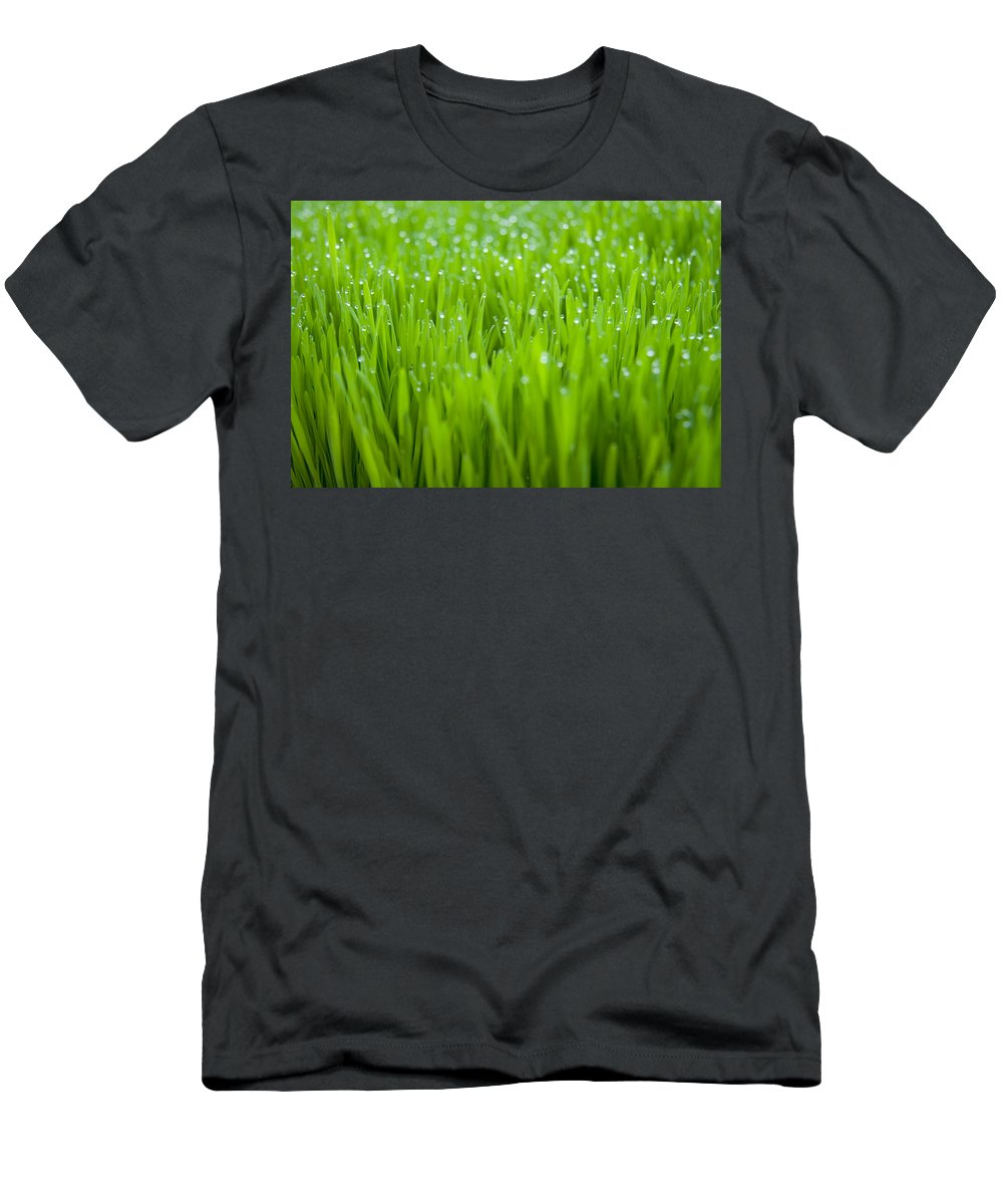 Dew Men's T-Shirt (Athletic Fit) featuring the photograph Dew by Alexey Stiop