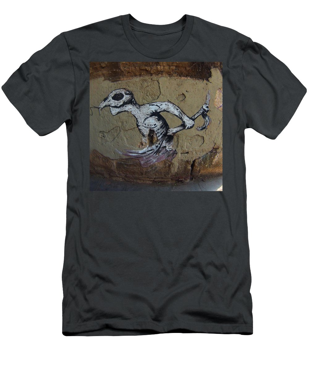 Mexico Street Art Men's T-Shirt (Athletic Fit) featuring the photograph Disguise by David Resnikoff