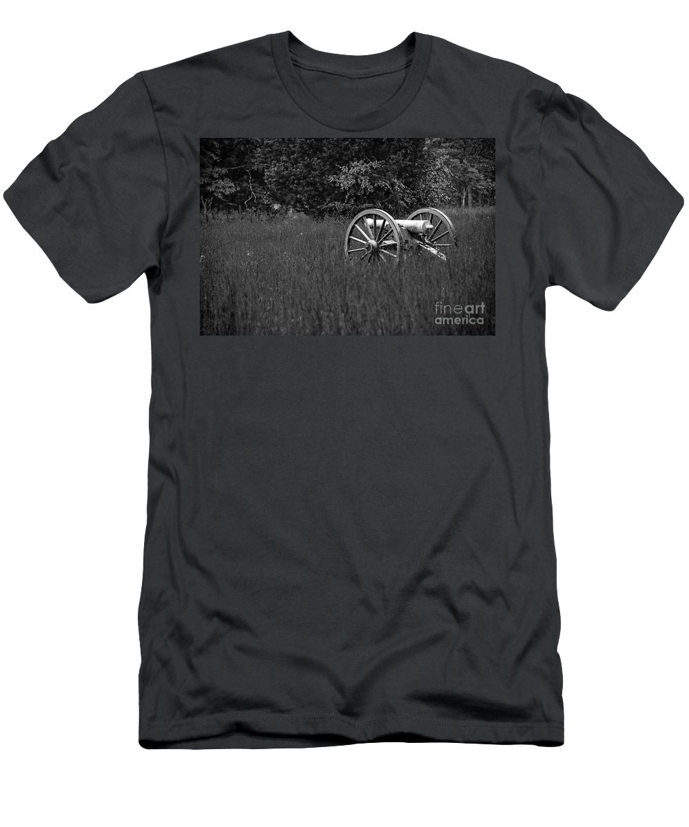 Art Men's T-Shirt (Athletic Fit) featuring the photograph Dogs Of War by Charles Dobbs