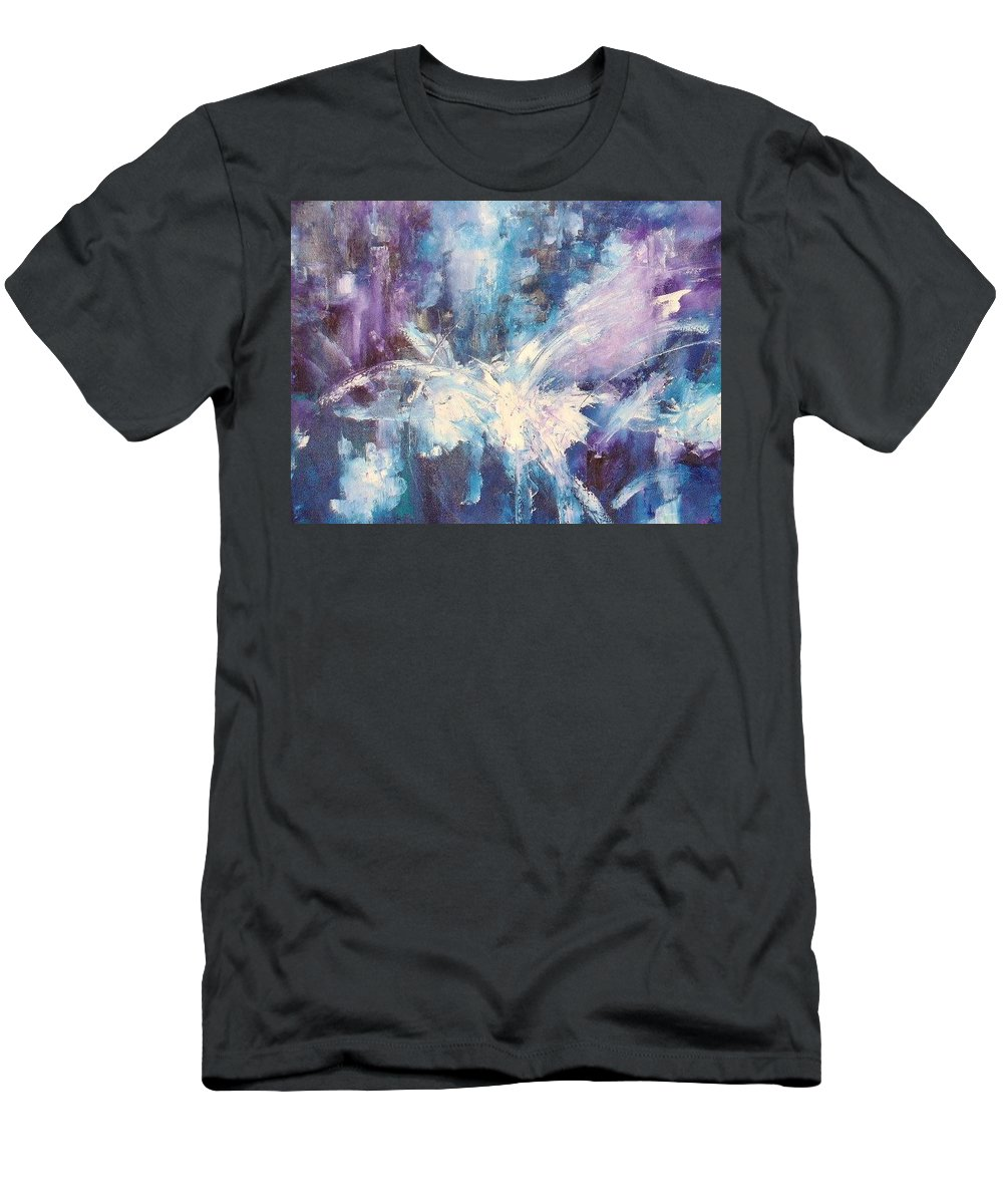 Morris Men's T-Shirt (Athletic Fit) featuring the painting Dove II by Lord Frederick Lyle Morris