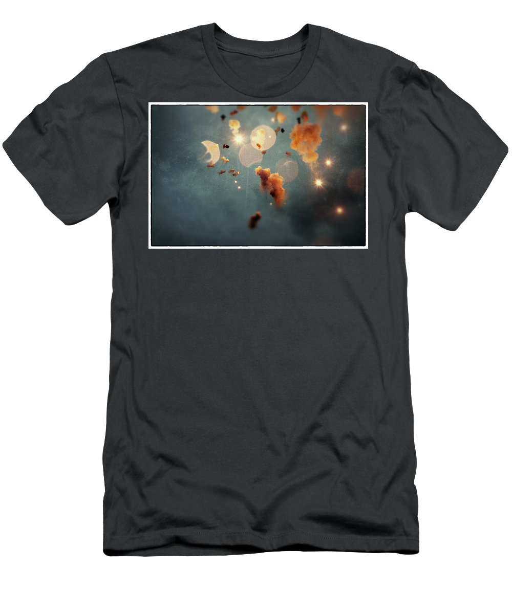 Mascleta Men's T-Shirt (Athletic Fit) featuring the photograph Dream Mascleta Valencia by For Ninety One Days