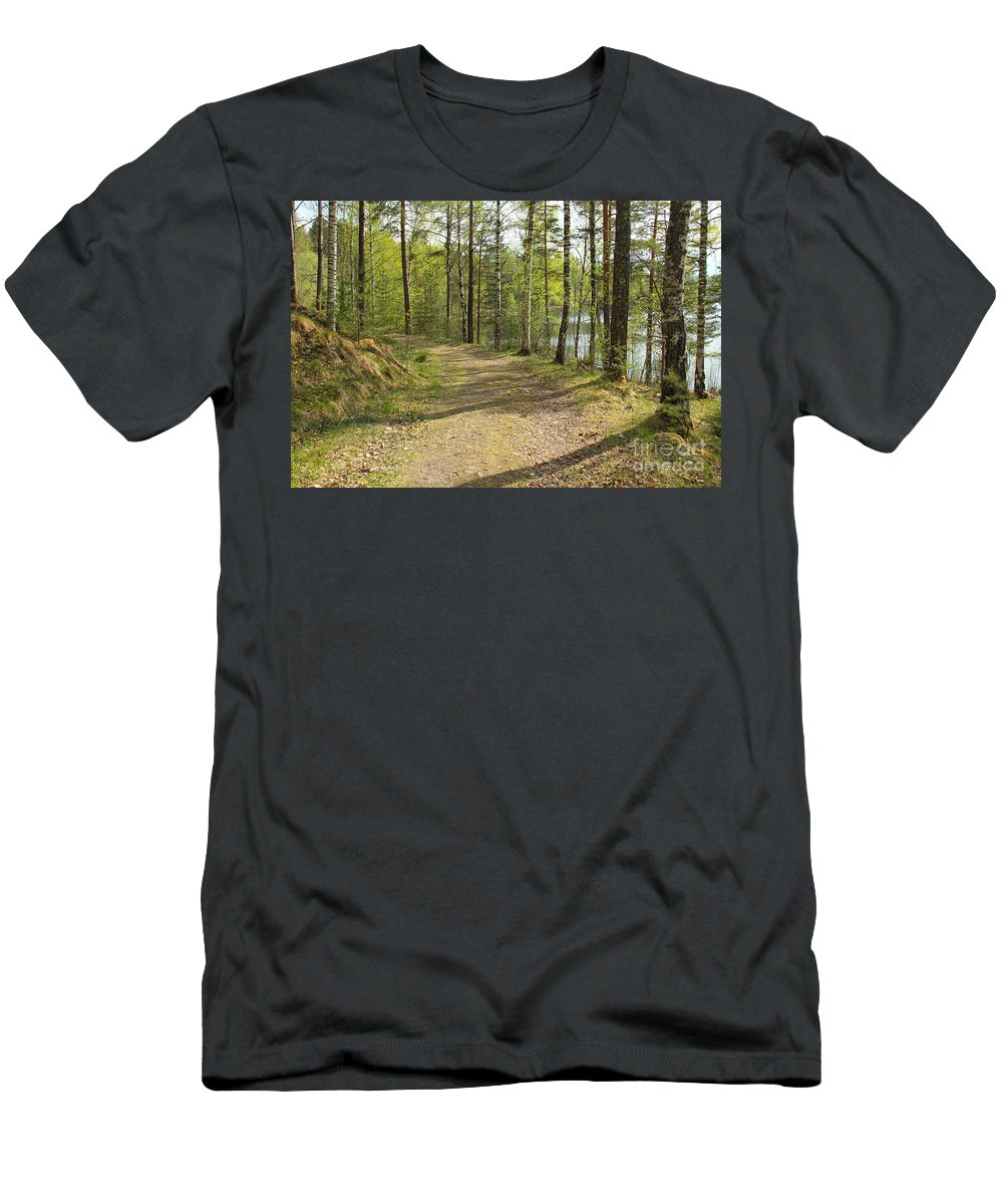 Spring Men's T-Shirt (Athletic Fit) featuring the photograph Early Spring by Kerstin Ivarsson
